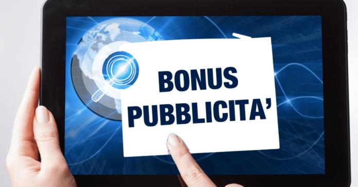 Bonus pubblicità