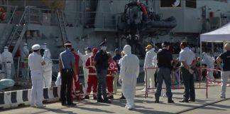 Nave migranti a Messina