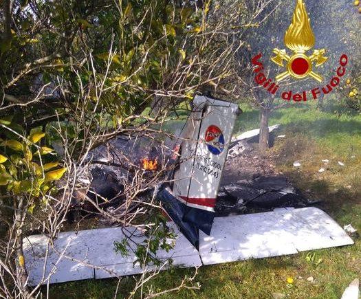 Precipita aereo di una scuola di volo nel Siracusano, due vittime