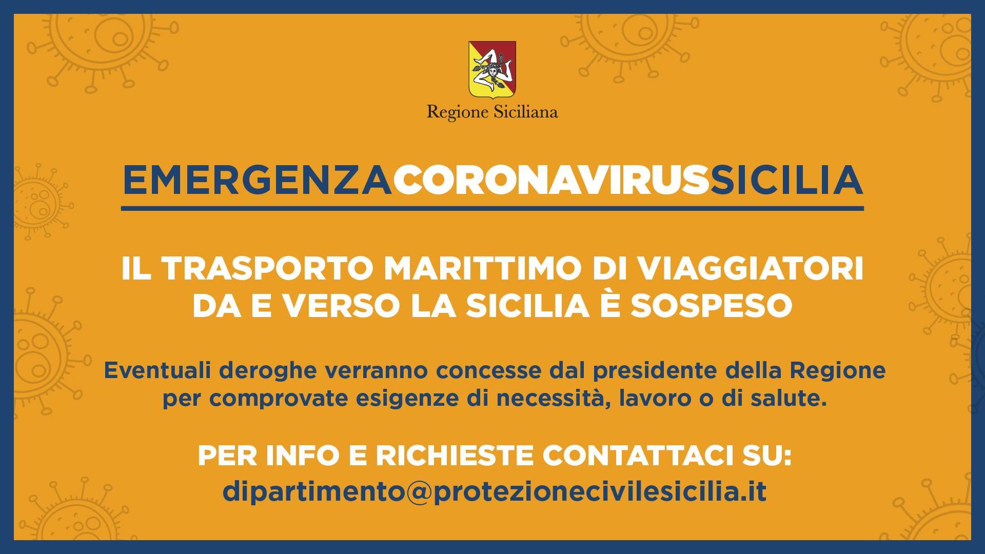 Coronavirus, Musumeci istituisce un comitato di 14