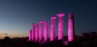 Le Colonne del Tempio di Ercole (Valle dei Templi) di Agrigento