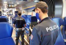 Polizia Ferroviaria treno messina